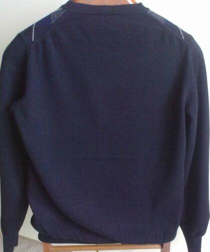 S 48 Pullover 46 in nero m per chemire 100 prodotto adatto Scotland Of Pringle Italia 66qf4TP