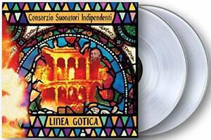 C-S-I-Linea-Gotica-Doppio-Vinile-Lp-Colorato-180-Gr-Clear-Vinyl-Limited-Edt