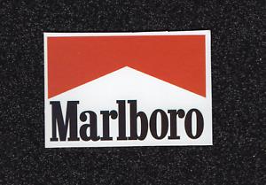 2 Marlboro Logo Vinyle Autocollants-afficher Le Titre D'origine