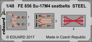 Eduard-1-48-Zoom-Photoetched-Su-17M4-seatbelts-STEEL-for-HobbyBoss-FE856