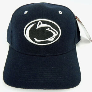 PENN-ST-STATE-NITTANY-LIONS-VTG-FITTED-SIZED-ZEPHYR-DHS-CAP-HAT-NWT-DEADSTOCK