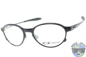 fb36de9c949 Oakley RX Eyeglasses OX5067-0251 Overlord Satin Black Titanium Frame ...