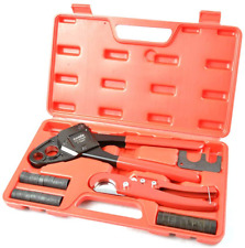 """Pex Plumbing Crimp Tools Angle Head Compact 1//2/"""" and 3//4/"""" 2 Pieces"""