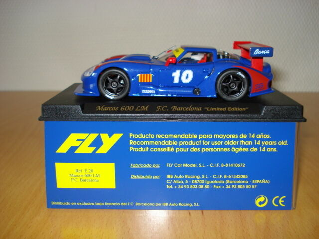 ►Fly E28 Sondermodell Marcos 600 LM F.C. Barcelona  Limited Edition ◄