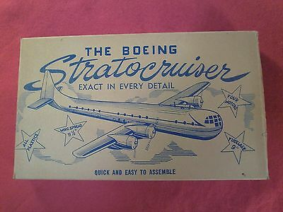Jericho - Boeing Stratocruiser - Model Kit # 1705 - Hard To Find - RARE 1949