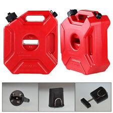 Motorcycle Car Plastic Portable Jerry Can Gas Fuel Tank Petrol Atv Utv Gokart 5l