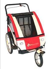 Pro Series Baby/Kids/Childrens Bicycle Trailer/Jogger/Pram Bike Suspension RED