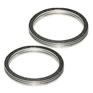 Caltric Exhaust Muffler Pipe Head Gasket Compatible With Yamaha Virago 920 Xv920 1981 1982 1983