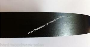 Iron On Pre Glued Veneer Melamine Edging Tape 22mm Black