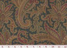 Ralph Lauren Velvet Upholstery Fabric Whittington Paisley CL Peacock Rtl $458y