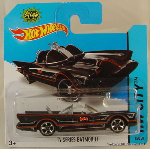 Hotwheels Raro Batman Cars Batmobiles Arkam animados Vaso 2015 que usted elija!