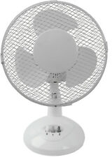 Artikelbild SALCO STT-23.1 Weiss Ventilator Tisch-Ventilator 23cm NEU OVP