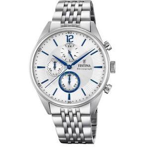Orologio-Cronografo-uomo-Ragazzo-Acciaio-F20285-1-Festina-prezzo-139-00