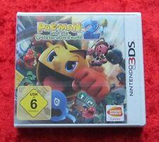 Pac-Man und die Geisterabenteuer 2, Nintendo 3D 3DS Spiel, Neu, deutsche Version