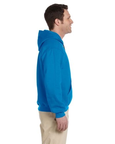 Gildan 92500 Premium Cotton Ringspun Fleece Mens Hooded Sweatshirt G925 on SALE