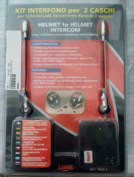 Set Interphone Pour 2 Casques Original LAMPA 90251