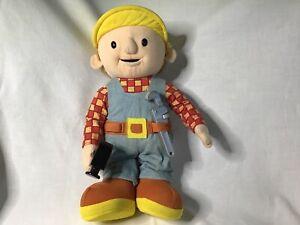 """Bob The Builder Talking 12"""" Plush Toy 2001 Hasbro Wrench ..."""