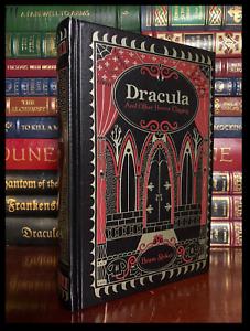 Dracula-by-Bram-Stoker-Brand-New-Leather-Bound-Gift-Hardback-Lair-White-Worm