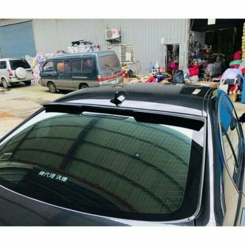 Flat Black 889HRW Rear Window Roof Spoiler Wing For BMW 3-series 06-11 E90 Sedan