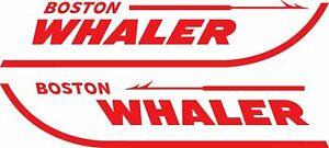 """NEW BOSTON WHALER DECALS 3.75/"""" X 18/"""""""