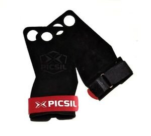 Hand-grips-X-PICSIL-PicSil-3-amp-2-HOLES-Hand-grips-for-gymnastic-men-and-women