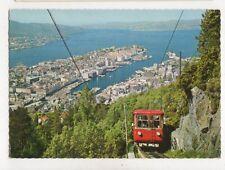 Bergen Floybanen Norway Postcard 931a