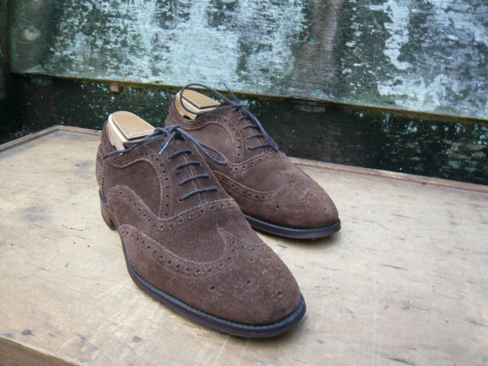 CHEANEY BROGUES – braun SUEDE - UK 6 – ARTHUR – EXCELLENT CONDITION