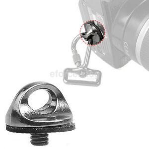 1/4 inch Screw For DSLR SLR Camera Strap Tripod Quick Release Plate Mount 1X