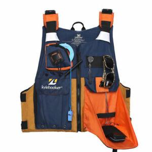 Kylebooker Kayak Fishing Life Jacket USCG Type III PFD Fit Universal Oversize