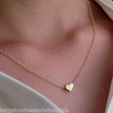 Small Tiny Sweet Love Gold 24k Gold Plated Tone Pendant Love Locket