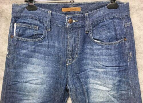 Homme Blue Joes Carlyle Classique Droite Jeans Selvedge Coupe Coupe Dans 30x30 BSw8Bzq
