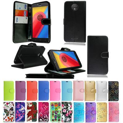 low priced 61d80 be513 Leather Wallet Flip Case Cover For Motorola Moto G6 Play G6 Plus E5 E5 PLUS  G5 | eBay