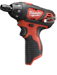 New-Milwaukee-M12-12-Volt-Lithium-Ion-Cordless-1-4-in-Hex-Screwdriver-TOOL-ONLY