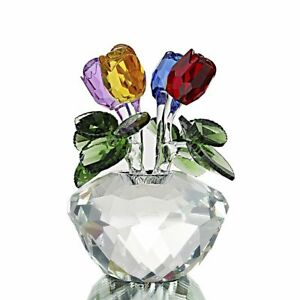 Mothers-Day-Gift-Presents-Gifts-for-Mum-Flower-Colorful-Crystal-Rose-Paperweight