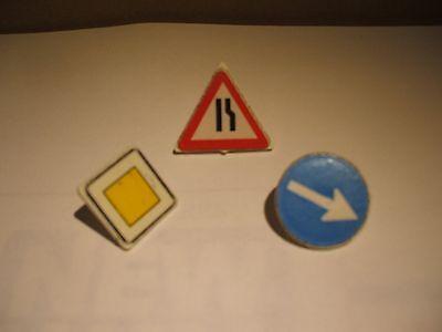Lot 2 Panneaux Signalisation à Mains Agent Piste AEROPORT C444 PLAYMOBIL