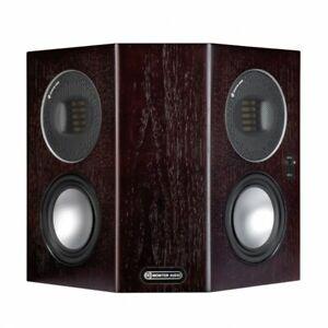 COPPIA DIFFUSORI SURROUND MONITOR AUDIO GOLD FX 5G DARK WALNUT CASSE SPEAKERS
