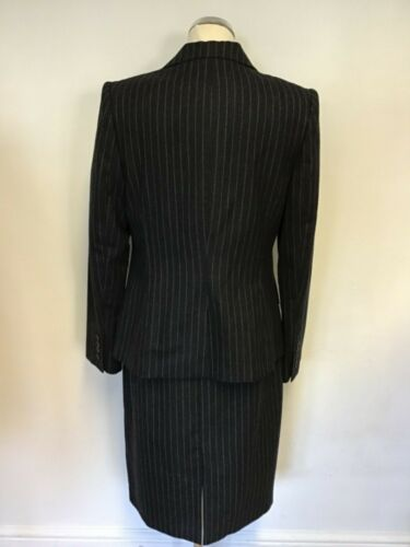 Grey Suit Lk Dress Pinstripe Bennett Business 14 Dark Wool Pencil amp; Size Jacket TExvwBEY