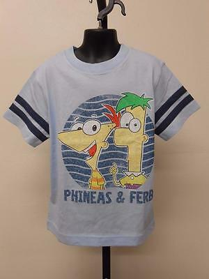"""8-10//12-14//16-18//20 Shirt New Phineas /& Ferb /""""Pow/"""" Youth Sizes S-M-L-XL"""