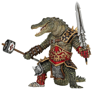 Papo Mondo Fantasy Figura Mutante Coccodrillo 38955