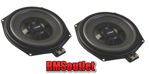 VIBE Uprated UNDERSEAT Subwoofers Para BMW 3 F30 F31 F34 115w Rms Series 1 Par