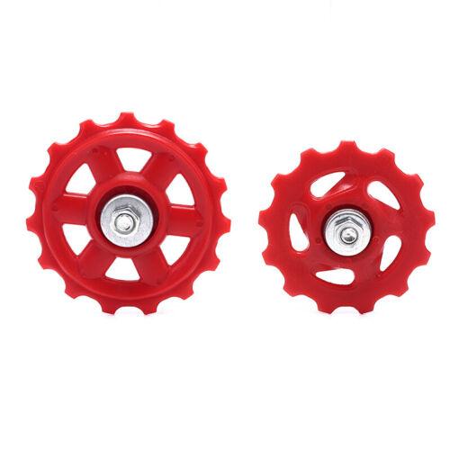 1PC Plastic Bike Bearing Jockey Wheel Rear Derailleur Pulleys Bicycle Part.vi