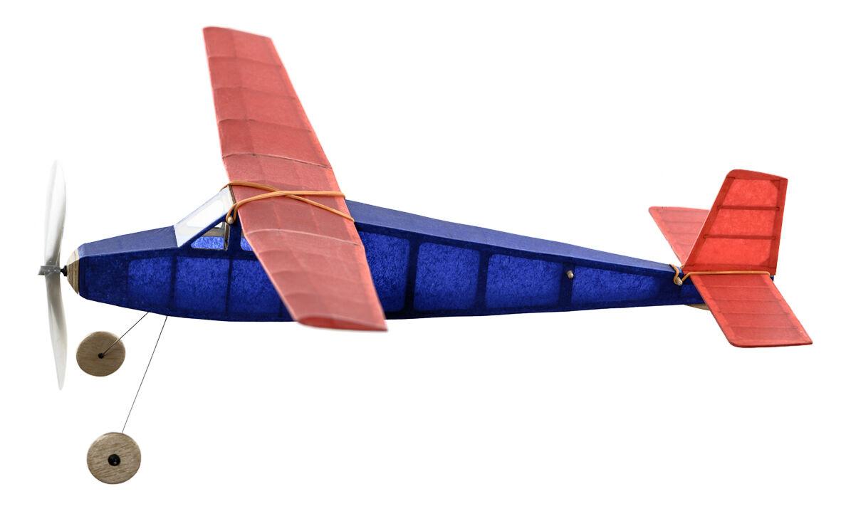 Sparvhök Balsa trä Sorts plan Kit av årgång modellllerler Co vingespan 5mm