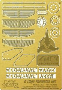 Paragrafix PGX208 1//350 TOS Enterprise Engine Grills Photoetch Set