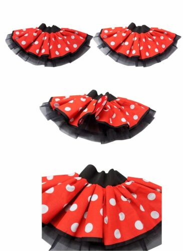 Fancy Dress Run 80s Mouse Hen Mini Skirt Bambini Tutu Ladies Party Fun Girls X6Bwp6qIn
