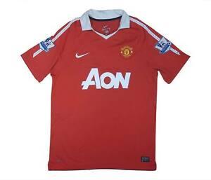 Manchester United 2010-11 ORIGINALE Maglietta (bene) M SOCCER JERSEY