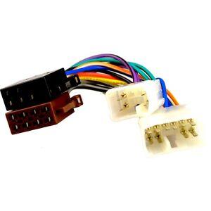 toyota hiace 05 13 iso adaptor lead wiring car radio harness rh ebay co uk