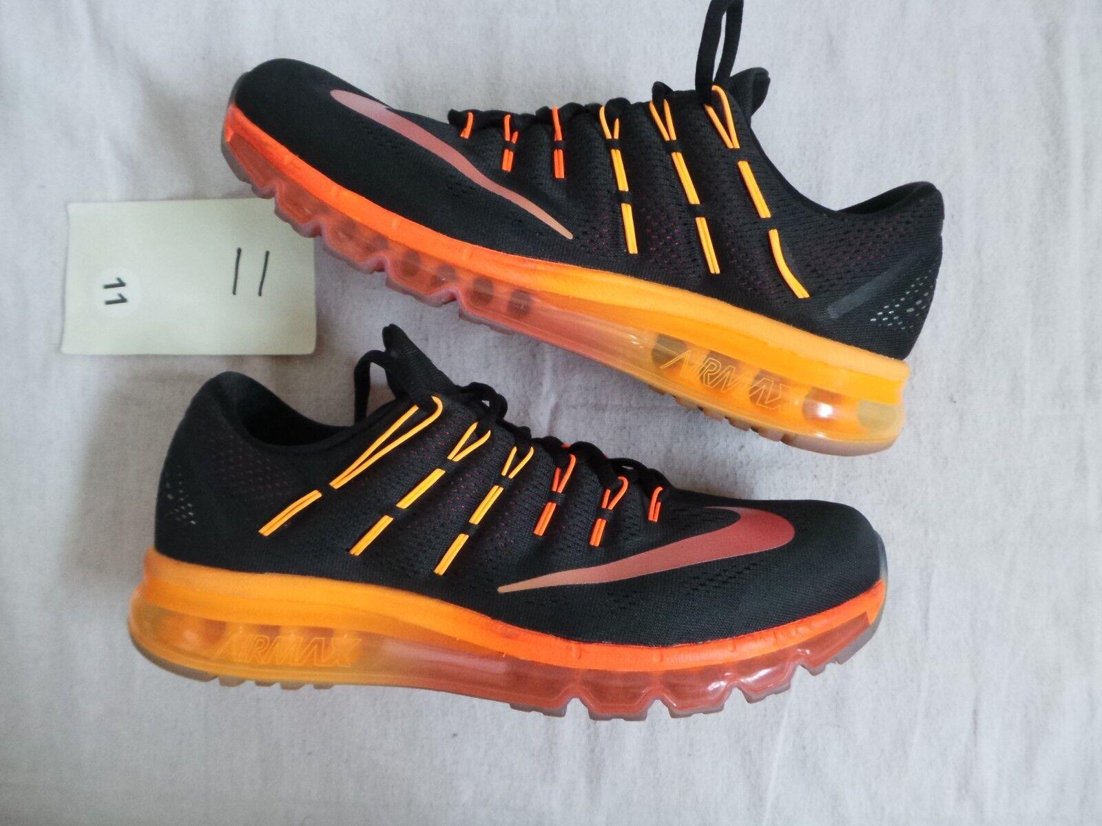 Nike air max 2016 nero arancio rosso cremisi 44 nds vapore vapormax flywire
