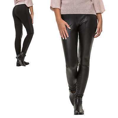 Only Leggings Da Donna Ecopelle Skinny Fit Donna Pantaloni Treggings Pantaloni Stretch-mostra Il Titolo Originale