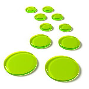 slapklatz pro drum dampeners dampening gels 10 pack alien green free shipping ebay. Black Bedroom Furniture Sets. Home Design Ideas