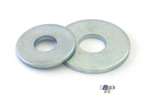1000 Unterlegscheiben DIN 9021 Stahl verzinkt 6,4 M6